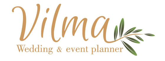Vilmawedding logotip