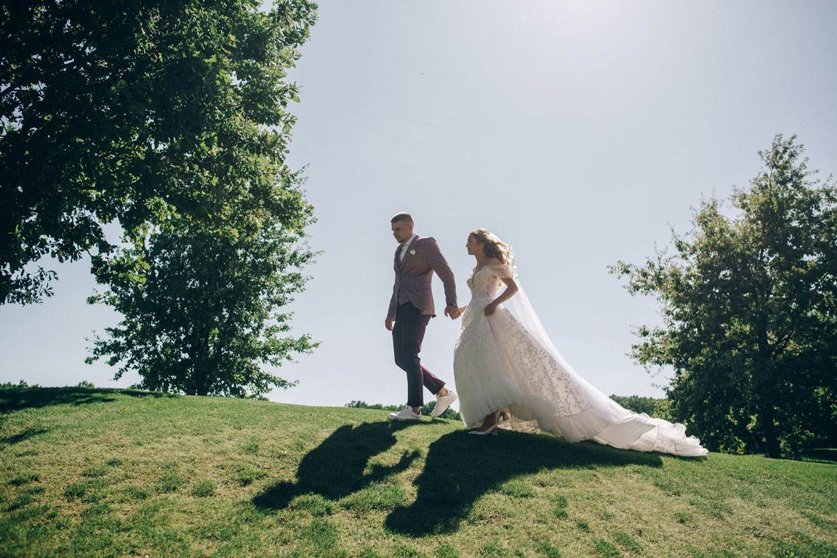 утонченная классическая свадьба