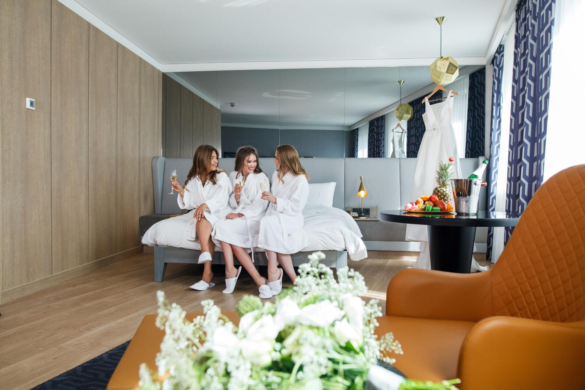 утро невесты в Radisson Blu Hotel Kyiv City Centre