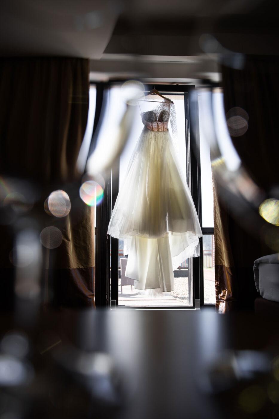 svadebnoe plate nevesty